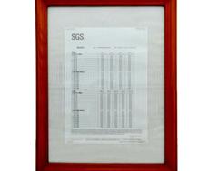 宝捷SGS证书